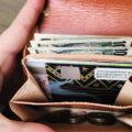 【レビュー】コトカルの小さな財布|折れないお札が改良されてた【色は土色】